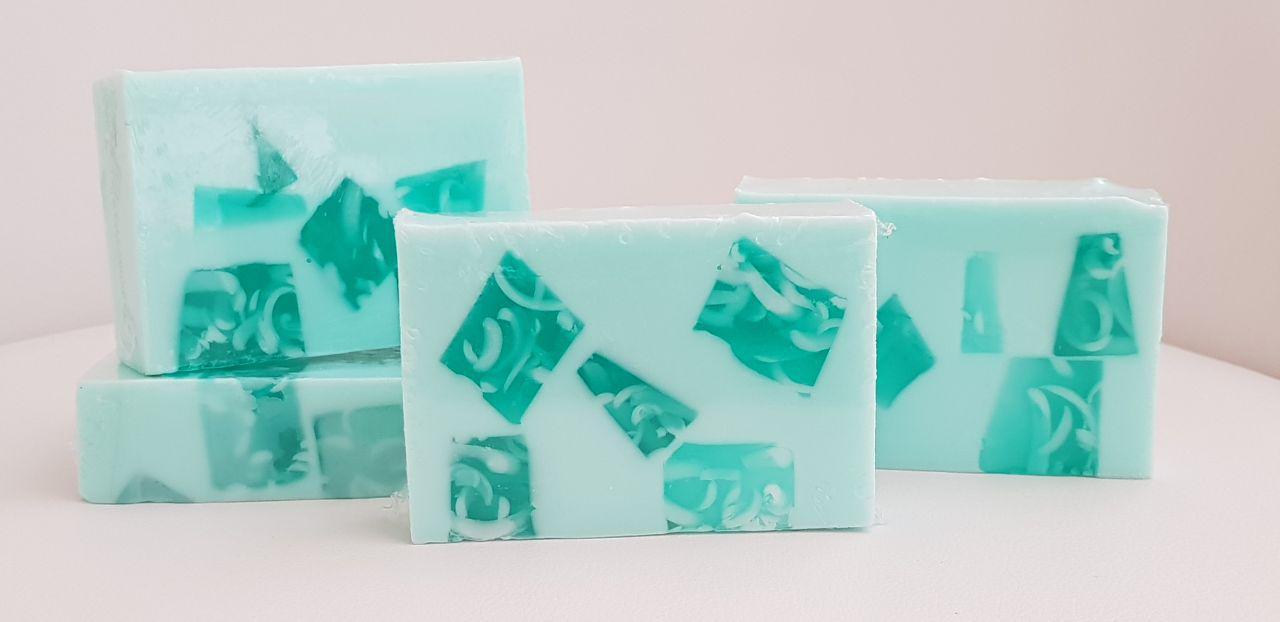 Photography Aloe Vera soap