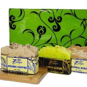 Exfoliating Soap Gift Pack