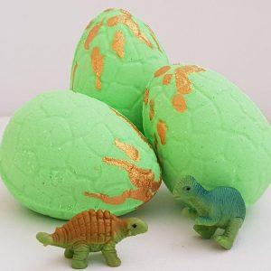 Bath Bomb Dinosaur Egg